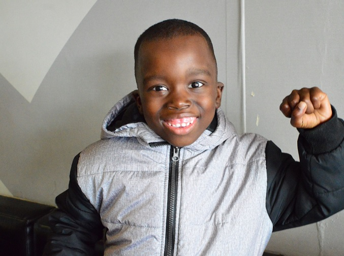 Khanide Gqokoda, 6, is flying from East London to Cape Town to see his dad, thanks to Reach For A Dream