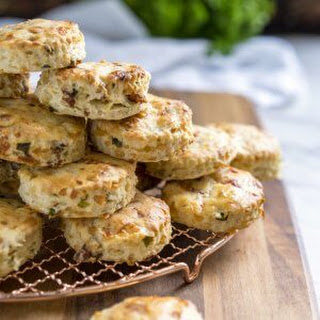 Cheesy Bacon Buttermilk Biscuits