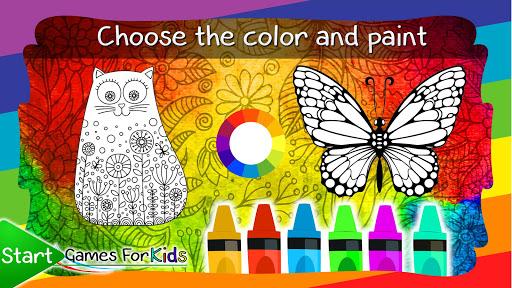 Mandalas of Animals for Coloring 4.0.0 screenshots 2