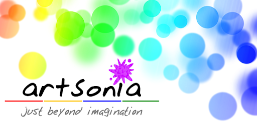 Artsonia logo linking to student artwork
