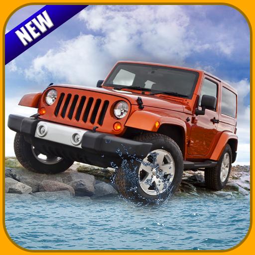 The Stunt Terrain- Offroad Jeep Drive