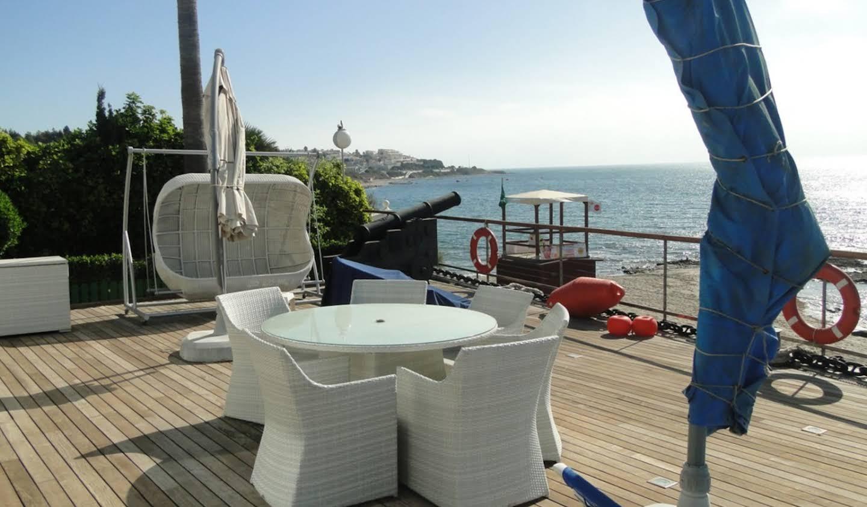 Villa avec piscine en bord de mer Mijas