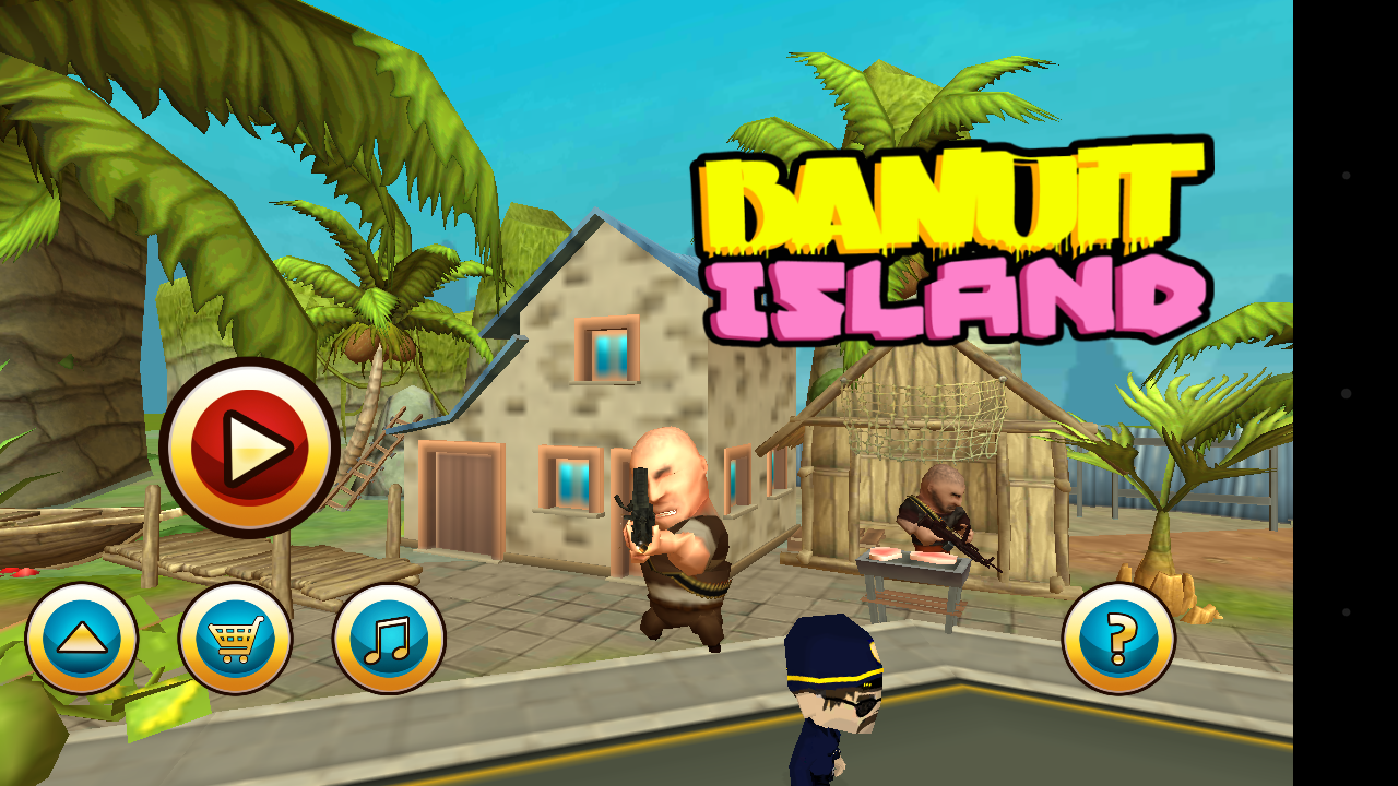 Bandit island- screenshot