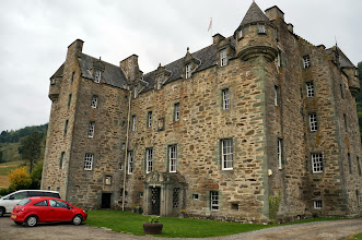 Photo: Our first castle in Scotland