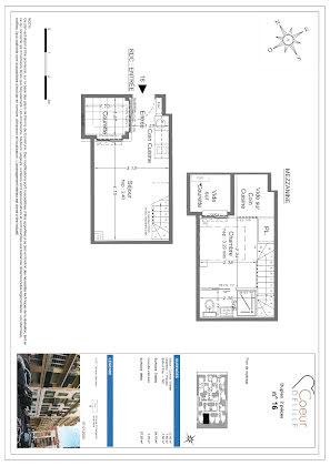 Vente appartement 2 pièces 24,15 m2