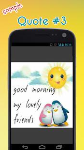 Dobré ráno Citace - náhled