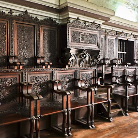 Pews by Wilfredo Garrido - Artistic Objects Furniture ( benches, church pews, pews, seats, furniture )