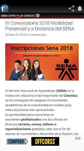 Sena Sofia Plus Courses Latest Version For Android Download Apk