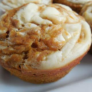 Pumpkin Spice Cream Cheese Muffins.