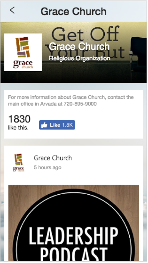 Grace Mobile- screenshot