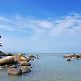 Pantai Samudera by Mulawardi Sutanto - Landscapes Beaches ( kalimantan, samudera, pantai, beach, travel, singkawang )