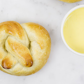 Homemade Soft Pretzels with Honey Mustard Dip Recipe
