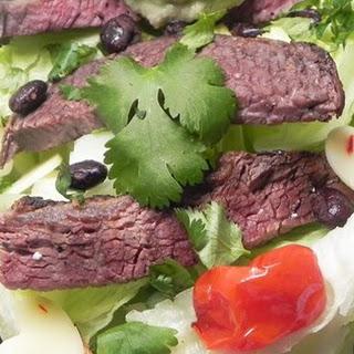Mexican Steak and Veggie Salad.