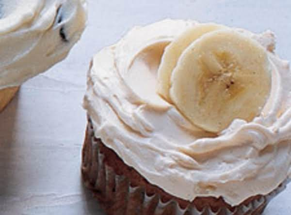 Banana Cupcakes With Caramel Butter Cream Frosting (martha Stewart Recipe)