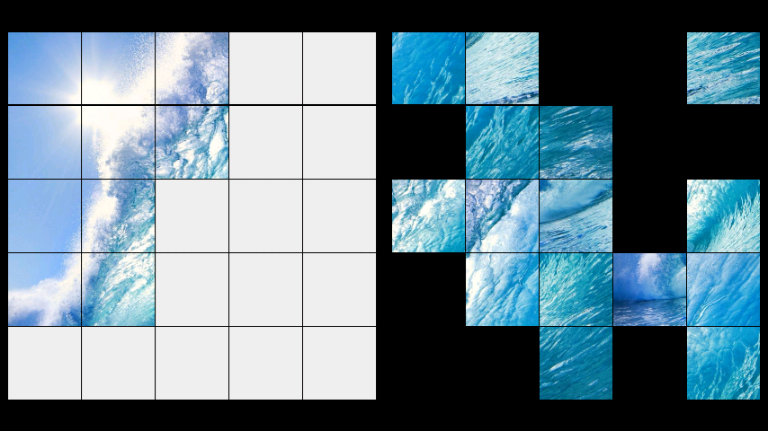 android Waves LWP + Puzzle Screenshot 2