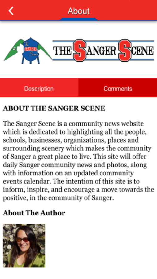 The Sanger Scene- screenshot