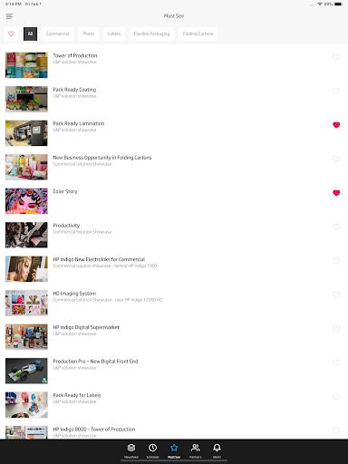 HP Indigo VIP Event 2020 Screenshots 10