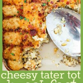 Cheesy Tater Tot Breakfast Casserole Recipe
