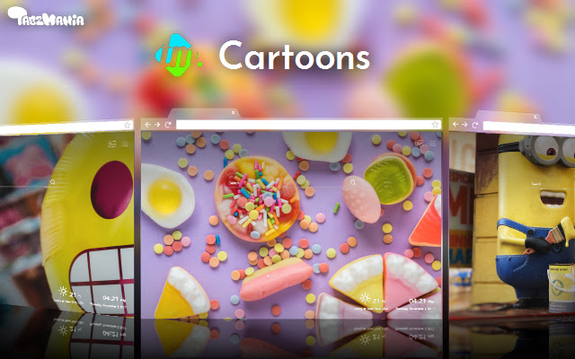 Cartoon Tab Themes