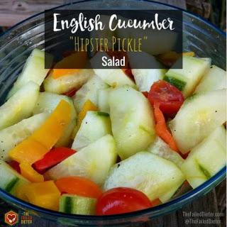 English Cucumber Salad