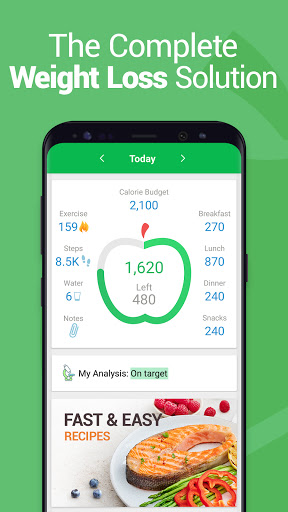 Calorie Counter - MyNetDiary, Food Diary Tracker Apk 1