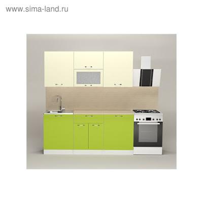 Кухонный гарнитур Елена макси, 1800 мм