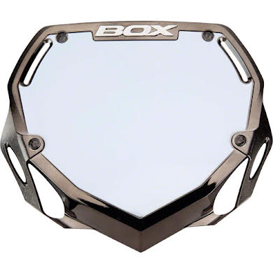 BOX Two Number Plate - Chrome