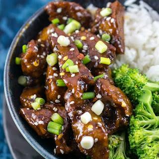 Mongolian Seitan (Vegan Mongolian Beef) Recipe