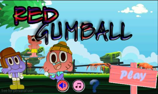 Red Gumbal - skateboard