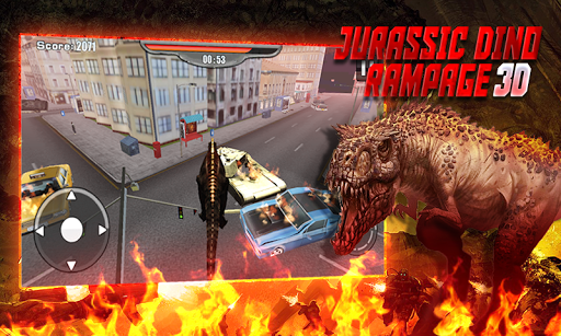Jurassic Dino Rampage 3D