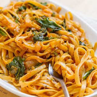 Vegetarian Pasta With White Wine Sauce Recipes.