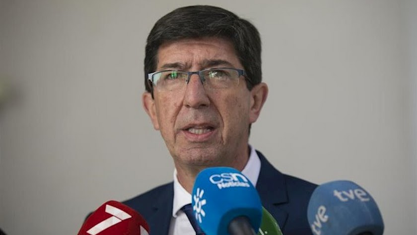 Juan Marín ha reaccionado a la información publicada por La Voz de Almería.