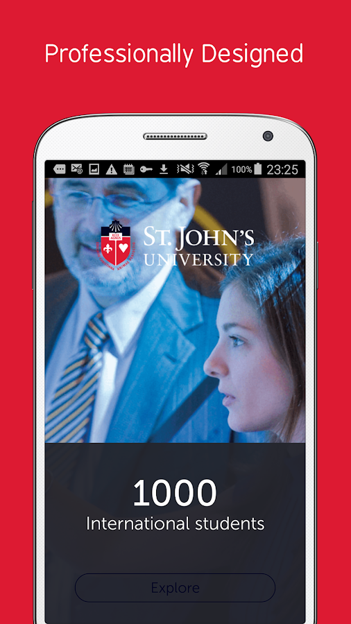 St. John's University- screenshot
