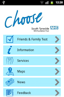 South Tyneside NHS- screenshot thumbnail