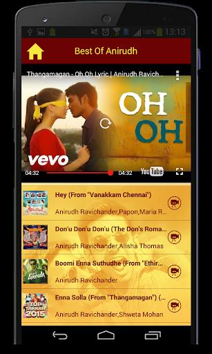 Best Of Anirudh Songs  screenshots 6