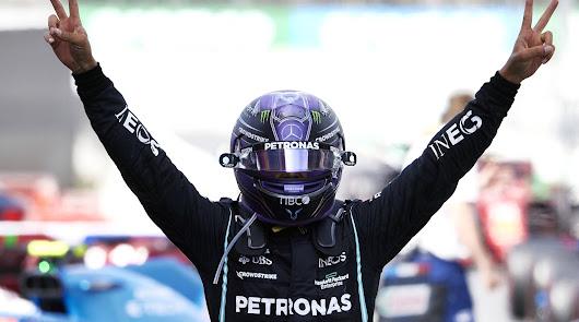 Hamilton logra una emocionante victoria para el equipo Mercedes-AMG en Barcelona
