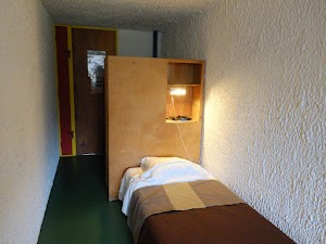 La Tourette - wnętrze celi