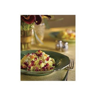 Pomegranate Squash Risotto