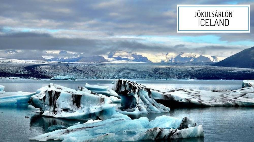 Jokulsarlon glacial lagoon iceland_image