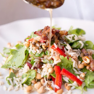Sprouted Hoppin' John Salad.