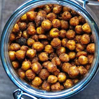 Turmeric Spiced Crispy Chickpeas