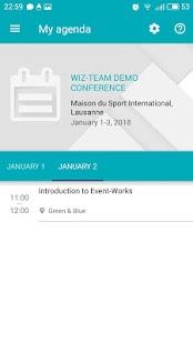 Event-Works Mobile - náhled