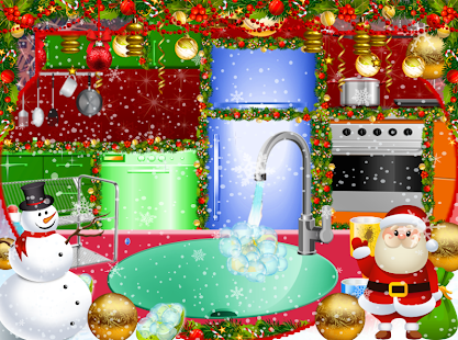 Christmas Kitchen Cleaning-House Kitchen Cleaning - náhled