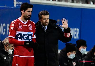 """Luka Elsner verliest voor het eerst in competitie als KVK-trainer: """"In de eerste helft bestonden we niet"""""""