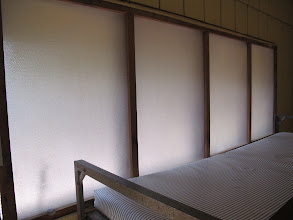 Photo: During the winter, Yoki cabins can be winterized and heated with these windows.