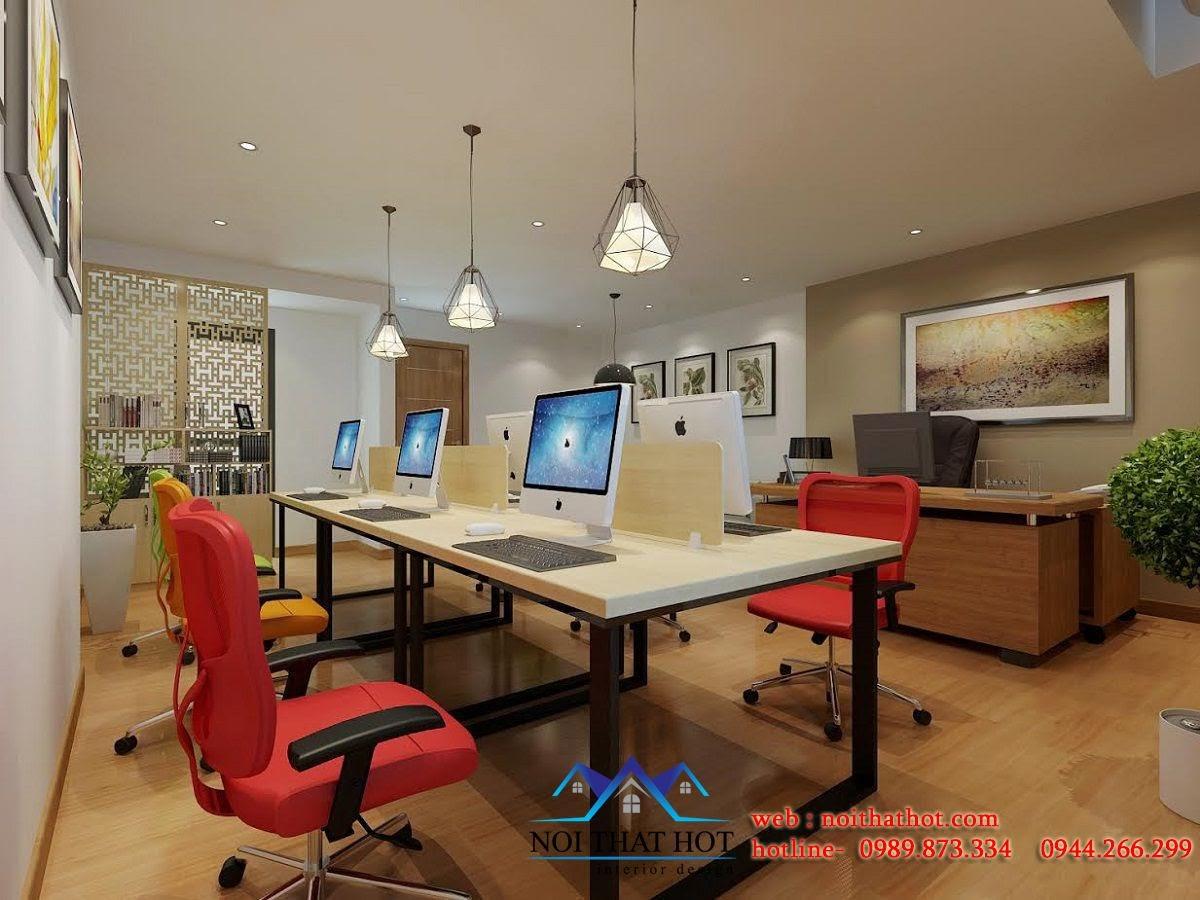thiết kế văn phòng công ty chuyên nghiệp