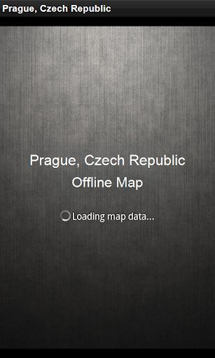 離線地圖 布拉格,捷克共和國