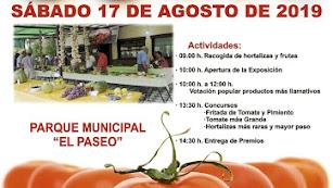 Cartel anunciador de la Feria Agrícola de Tíjola