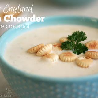Crockpot New England Clam Chowder Recipe