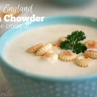 Crockpot New England Clam Chowder.